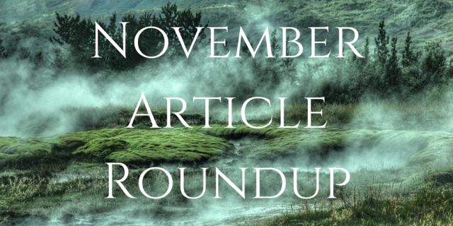 November Article Roundup