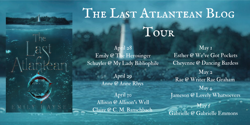 The Last Atlantean Blog Tour